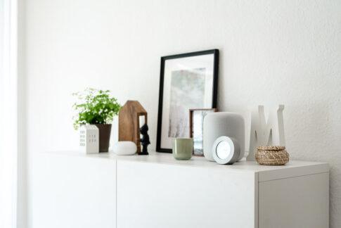Stilleben Vasen, skandinavisch dekoriert Businessshooting Celle