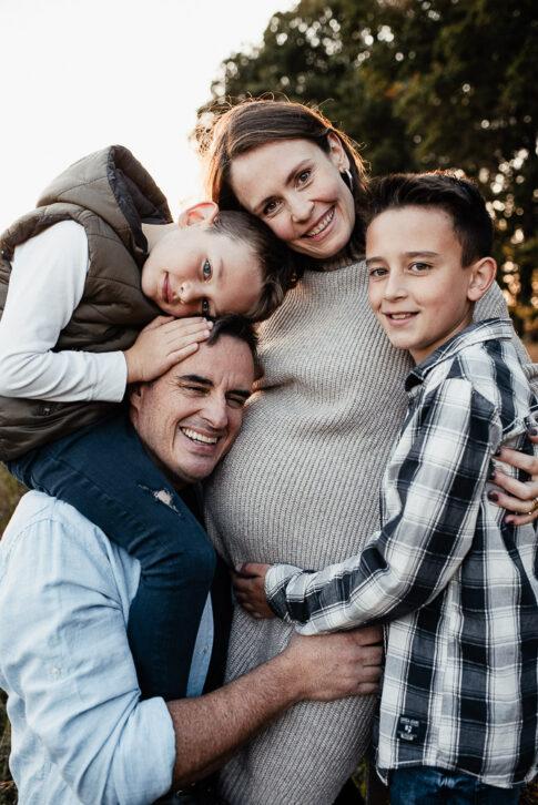 Familie bei Shooting in Wolfsburg